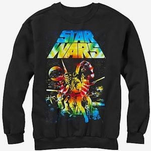 Star Wars Classic Tie-Dye Poster Sweatshirt